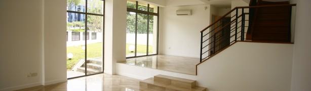 Bright-lit Living Room in Chuan Villas