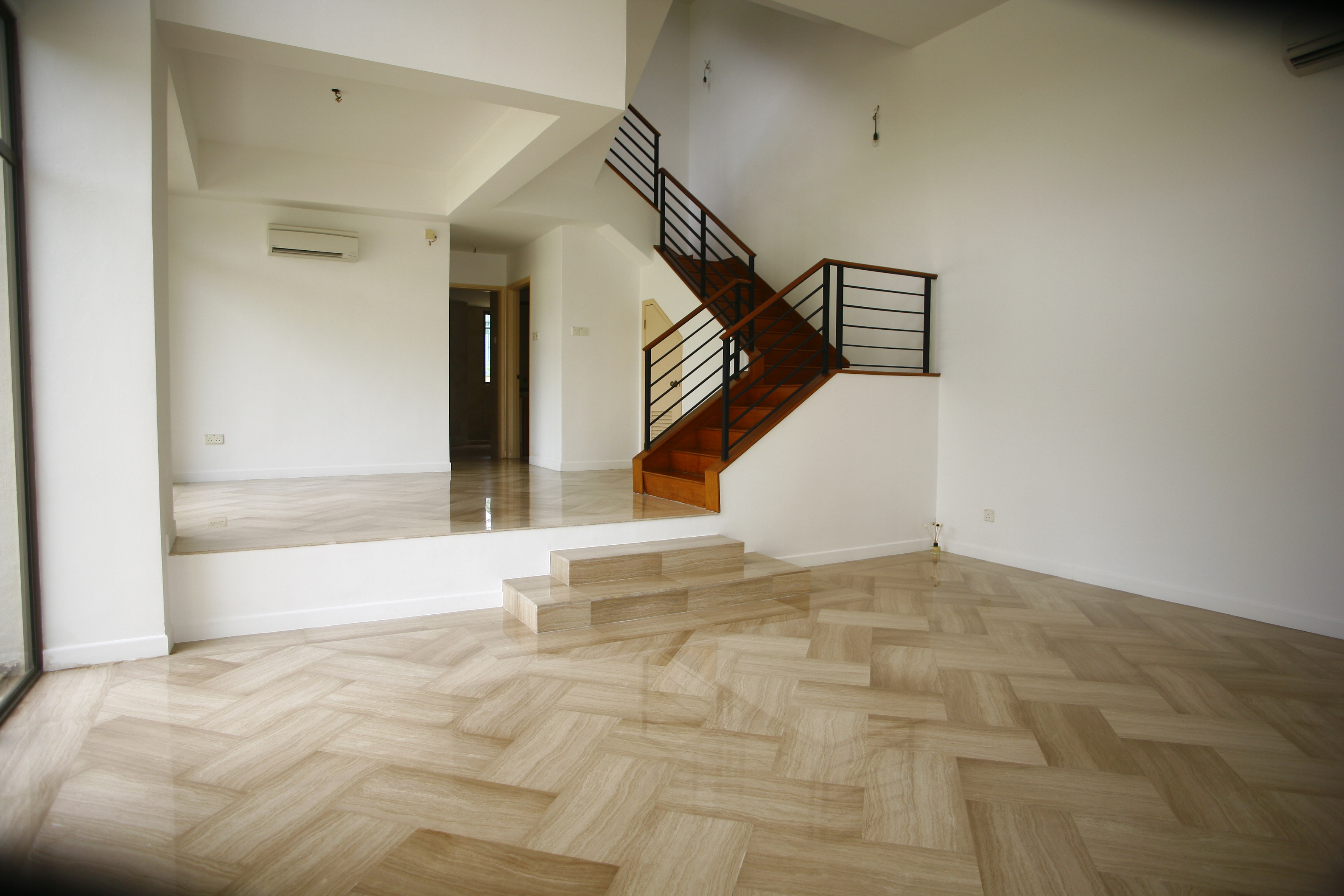 Chuan villas terrace house singapore landed property for Terrace house singapore