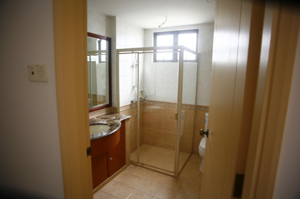 One of the bathrooms in Chuan Villas Terraced House